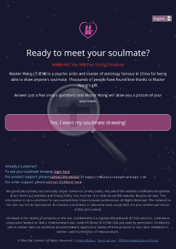 Master Wang Draws Your Soulmate preview. Click for more details