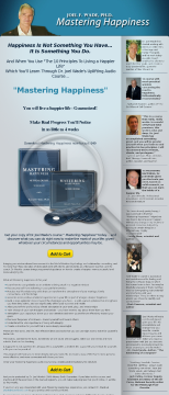 Mastering Happiness Audio Course preview. Click for more details