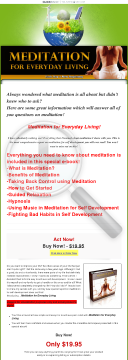 Meditation For Everyday Living preview. Click for more details