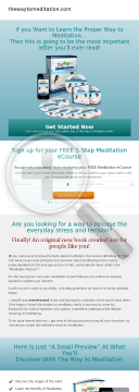 Meditation Guide With A Difference preview. Click for more details