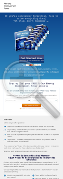 Memory Guide With A Difference preview. Click for more details