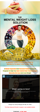 Mental Weight Loss Solution - High Pay Out, High Commission preview. Click for more details