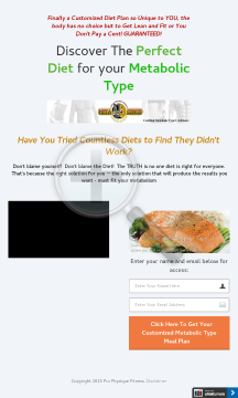 Metabolic Typing Makeover - Lose Weight And Never Find It, Again! preview. Click for more details