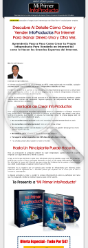Mi Primer Infoproducto preview. Click for more details