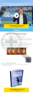 Modern Forehand Domination Ebook preview. Click for more details