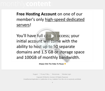 Monthly Content: High Conversions, 75% Recurring Commissions. preview. Click for more details