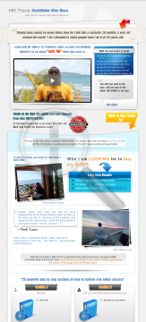Mr Think Outside The Box Online Marketing Guide preview. Click for more details