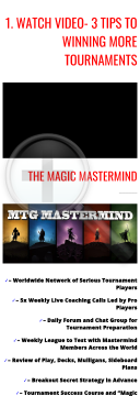 Mtg Mastermind Training preview. Click for more details
