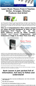 Music Theory preview. Click for more details