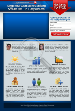 My Affiliate Power Site - Build A Money Making Niche Site preview. Click for more details