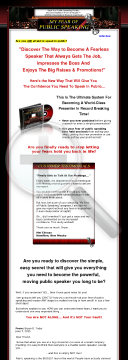 My Fear Of Public Speaking preview. Click for more details