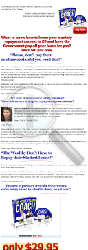My Student Loan Coach preview. Click for more details