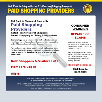 Mystery Shopping Is Hot Again! preview. Click for more details