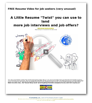 New - Amazing Resumes! preview. Click for more details