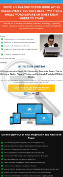 New)) My Fiction Writing - Creative Writing Course - Launched In 2019! preview. Click for more details