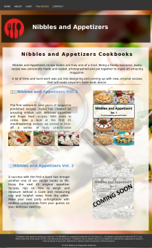 Nibbles And Appetizers preview. Click for more details