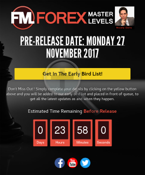 Nicola Delics Forex Master Levels preview. Click for more details