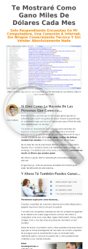 Nuevo Encuestas Pagas. 50% Comision preview. Click for more details