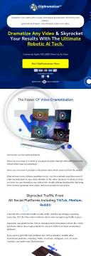 Number 1 App To Dramatize Any Video preview. Click for more details