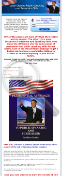 Obama Persuasion & Speaking Skills Revealed preview. Click for more details