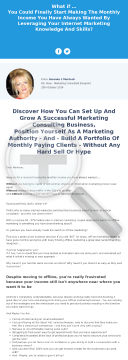Offline Marketing Consultant Blueprint - Over $70 Per Sale preview. Click for more details
