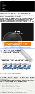 One Million Target / Offerta Esclusiva CB preview. Click for more details
