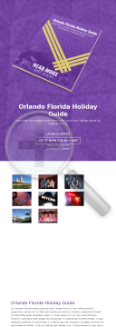Orlando Florida Holiday Guide preview. Click for more details