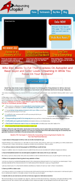 Outsourcing Autopilot - Earn 50% Commissions. preview. Click for more details