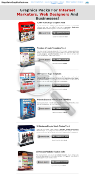 Over 6,500 Graphics & Website Templates! preview. Click for more details