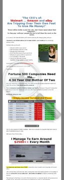 Paid Surveys, Etc. - $3,000,000+ Paid In Commissions preview. Click for more details