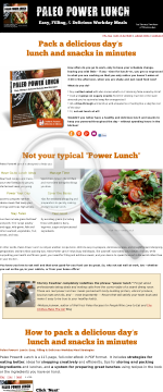Paleo Power Lunch preview. Click for more details