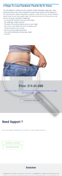 Pandemic Weight Gain. Lose Those Pounds And De-stress Your Life preview. Click for more details