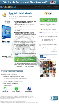 PC Healthboost - Top Converting Registry Cleaner preview. Click for more details