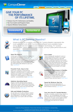 PC Tuneup Maestro preview. Click for more details