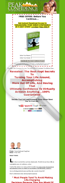 Peak Confidence - High Converting Confidence Building System. preview. Click for more details