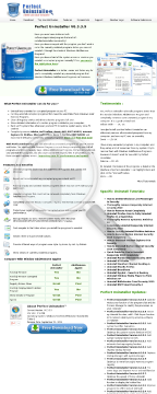 Perfect Uninstaller - #1 Converting Uninstaller preview. Click for more details