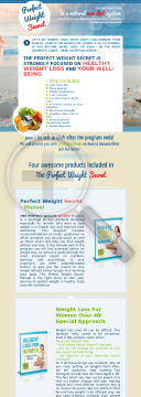 Perfect Weight Secret preview. Click for more details