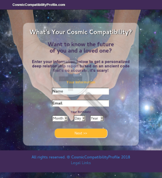 Personalized Cosmic Compatibility Profile - 75% Commissions preview. Click for more details