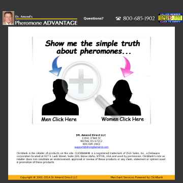 Pheromone Advantage: Attract The Opposite Sex With Pheromones preview. Click for more details