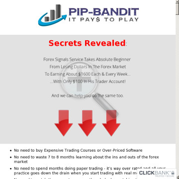 Pip Bandit preview. Click for more details
