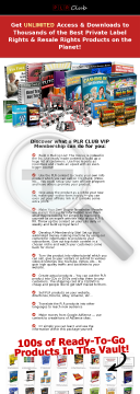 PLR Club Vip Membership preview. Click for more details