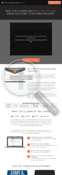 Podcasting Pro Course - Podcast Course Offer With Bonuses, Money Back! preview. Click for more details