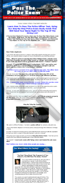 Police Exam Guide - How To Pass The Police Test preview. Click for more details