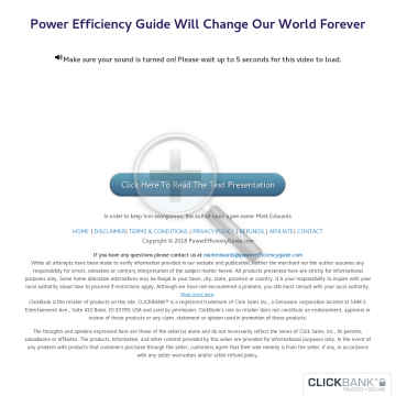 Power Efficiency Guide preview. Click for more details