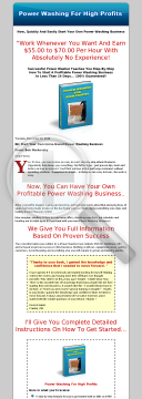 Power Washing For High Profits preview. Click for more details