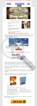Powerful Wealth Affirmations To Attract Money preview. Click for more details
