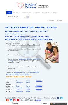 Priceless Parenting - Online Parenting Classes preview. Click for more details