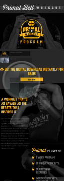 Primal Bell Workout Program By Onnit preview. Click for more details