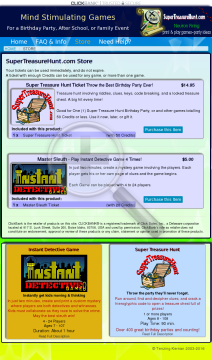 Printable Games For Birthdays, Parties, And Kids preview. Click for more details