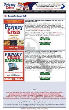 Privacy Crisis Ebooks preview. Click for more details